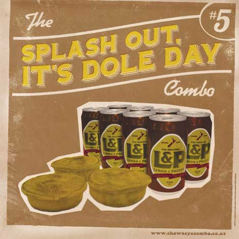 Splash Out Dole Day Combo Meal