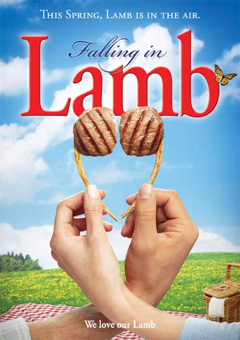Lamb is in the Air