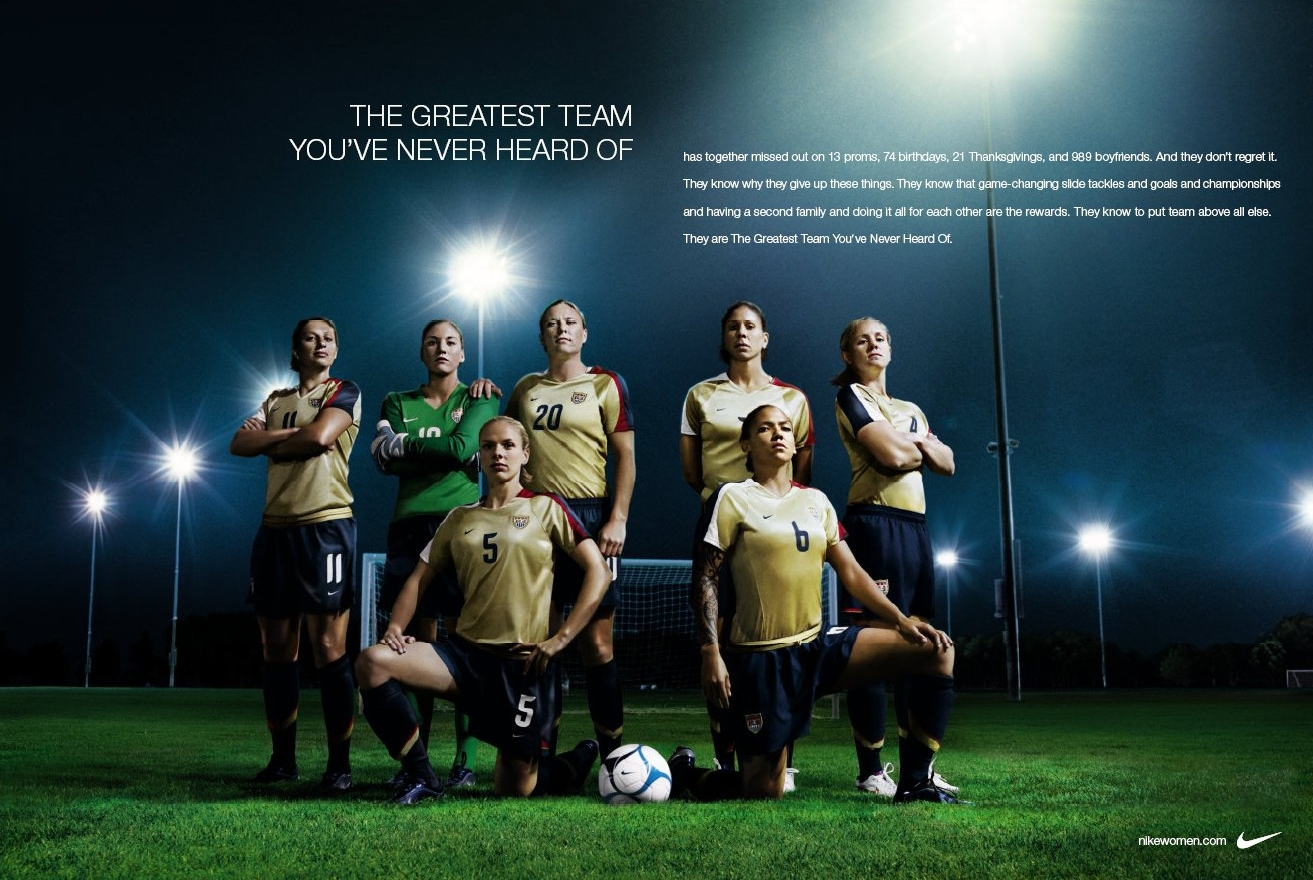 Nike Advertisement Posters http://theinspirationroom.com/daily/2007/nike-backs-greatest-team-youve-never-heard-of-5/