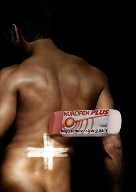 Man's back pain helped with Nurofen