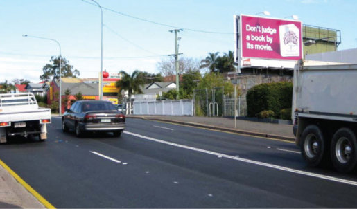 Brisbane Writers Festival billboard