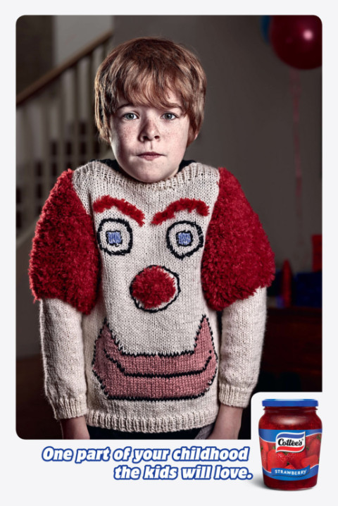 Cottees Jumper print advertisement