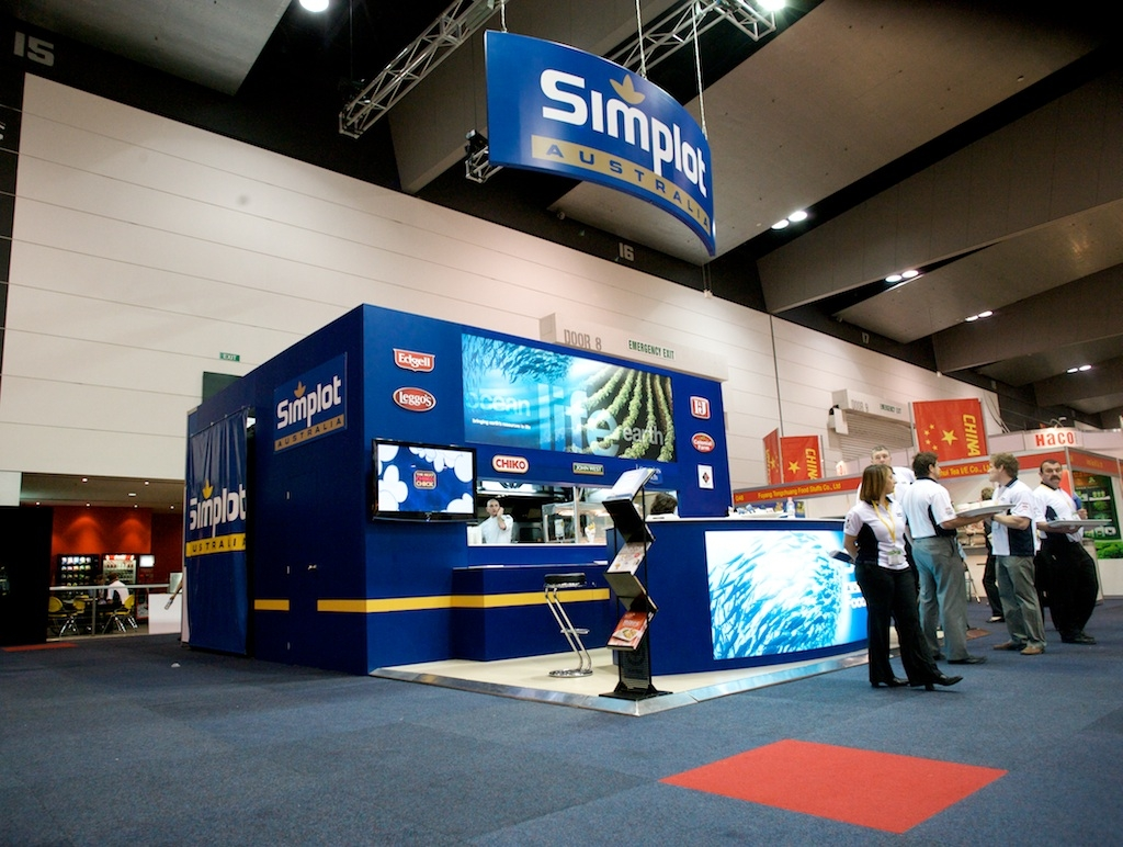 Custom Exhibition Stands Melbourne : Experiential marketing at melbourne fine food expo