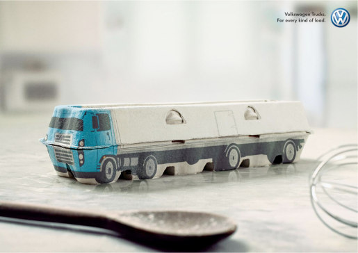 VW Trucks Egg Carton