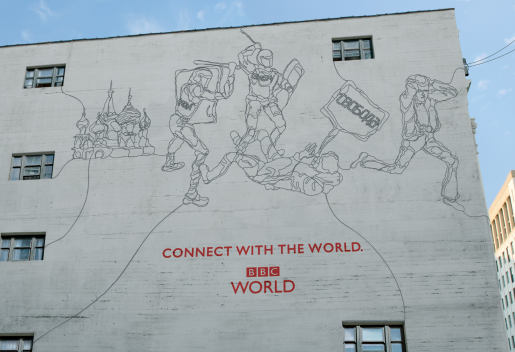 BBC World Cables Protest