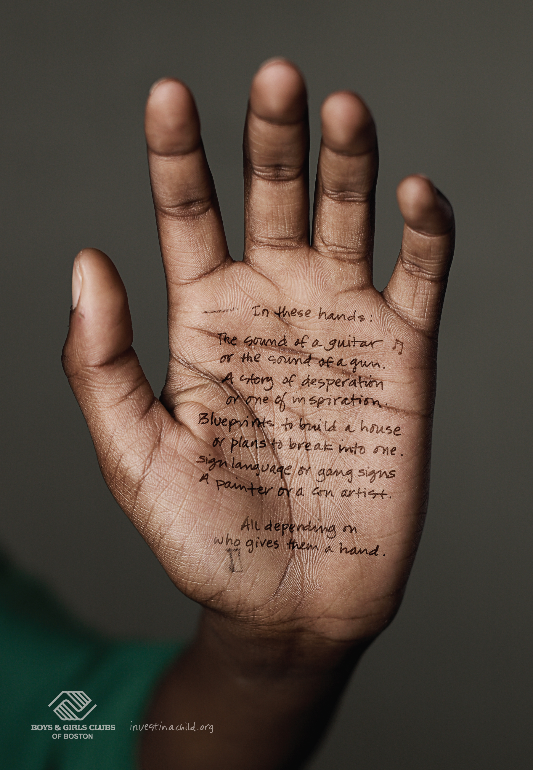 Boys and Girls Club of Boston In These Hands - The Inspiration Room