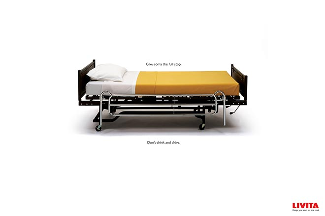 Livita Hosptial Bed print advertisement