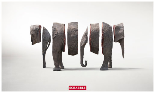 Scrabble Elephant anagram