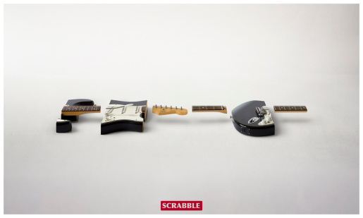 Scrabble Guitar anagram