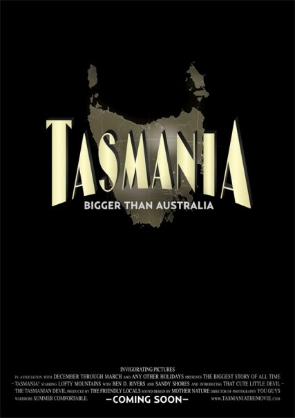Tasmania The Movie Poster