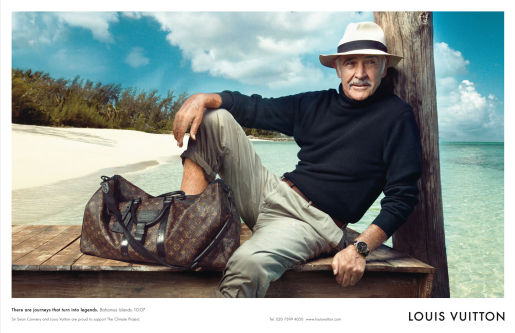 Louis Vuitton Sean Connery