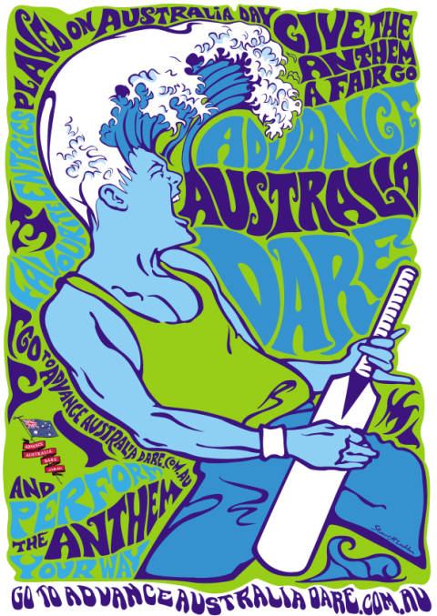 Advance Australia Dare Surfer