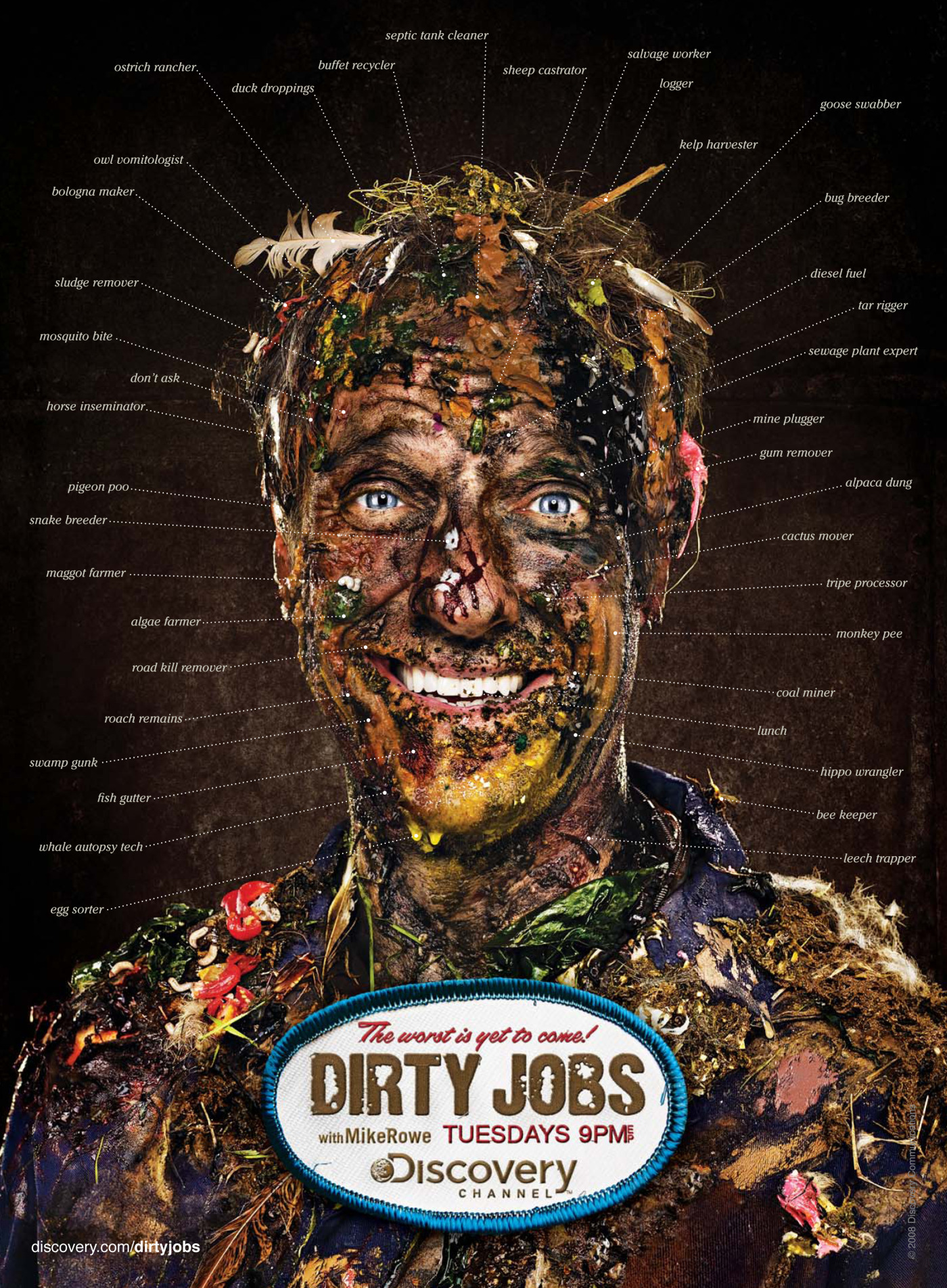 Dirty Jobs With Mike Rowe The Inspiration Room