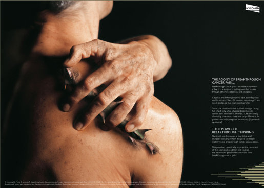 Nycomed Thorns in Shoulder print advertisement