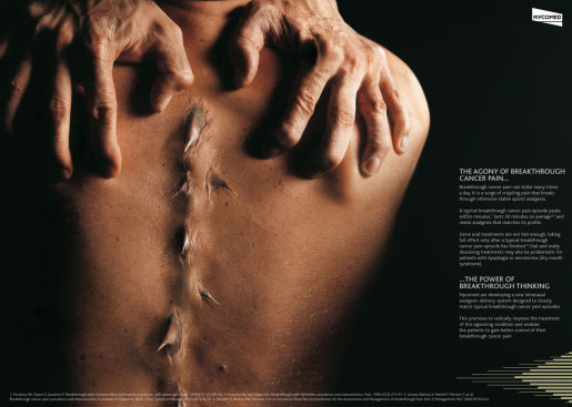 Nycomed Thorns in Spine print advertisement