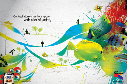 Ypiranga Paint advertisement