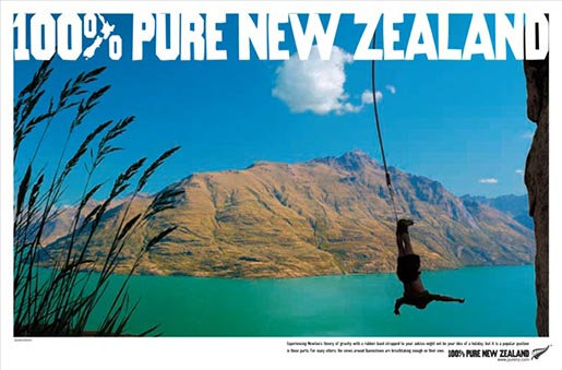 100% Pure New Zealand Bungee