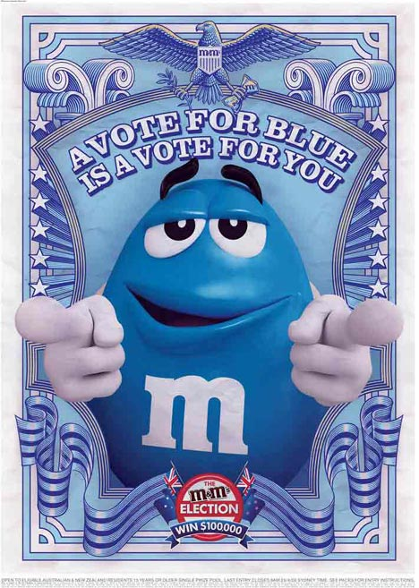 M&M Elections Vote Blue