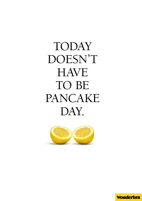 WonderBra Pancake Day