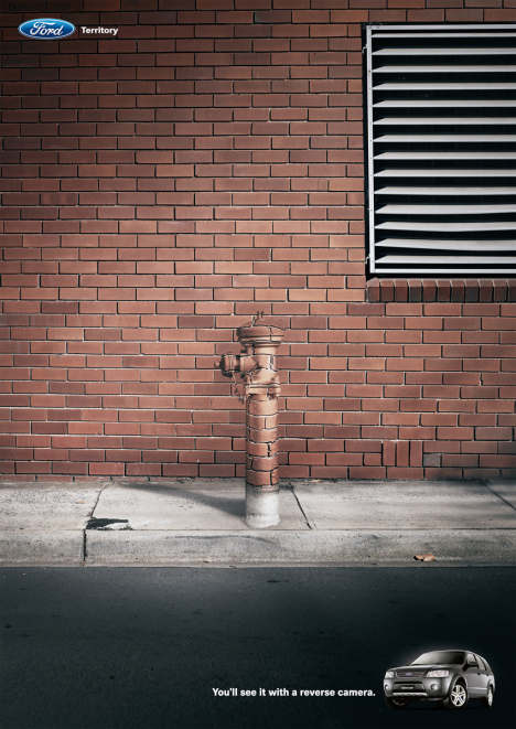 Brick Hydrant in Ford Territory print ad
