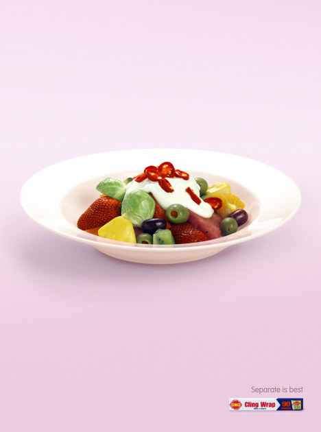 OSO Hot Salad print advertisement