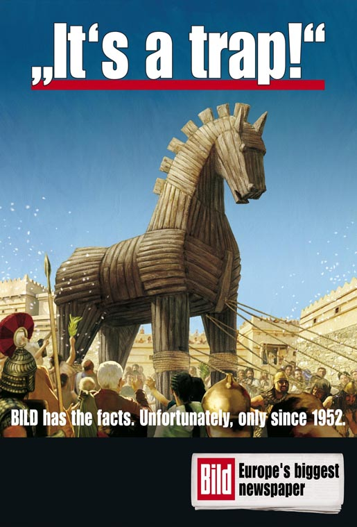 Bild Trojan Horse Warning