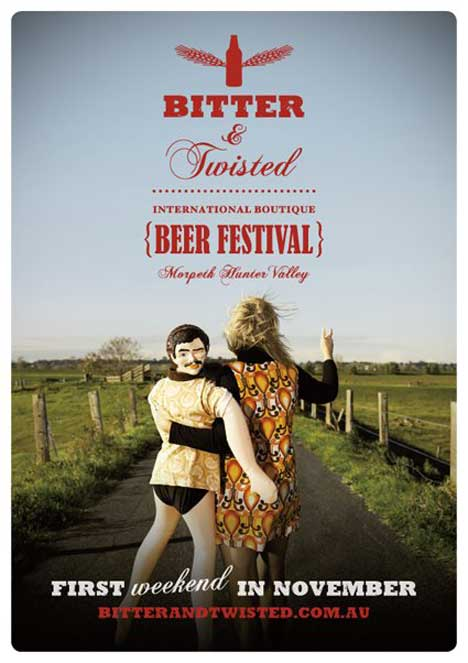 Bitter and Twisted Couple ad