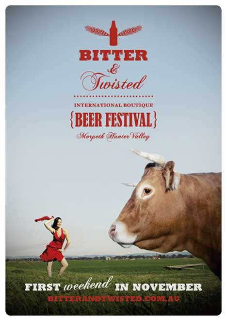 Bitter and Twisted Bull ad