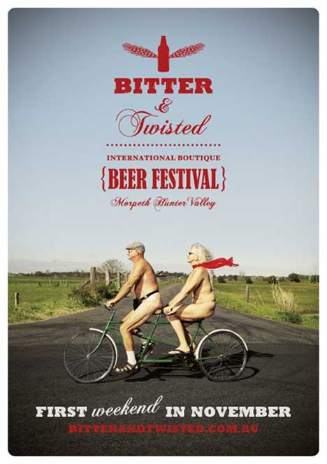 Bitter and Twisted Tandem ad