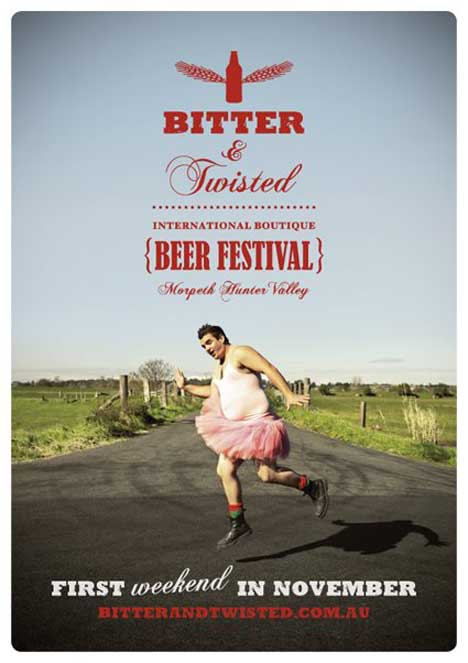 Bitter and Twisted Tutu ad
