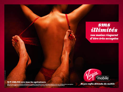 Virgin Mobile Bra Toes
