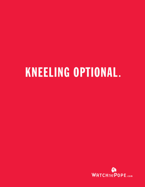 Kneeling Optional