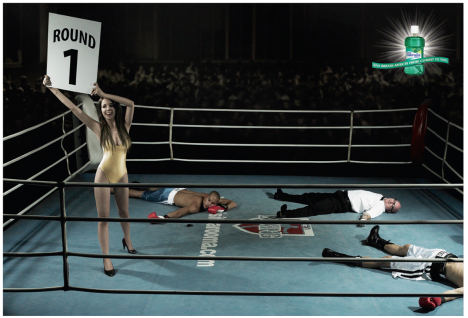 Listermint KO in Boxing Ring