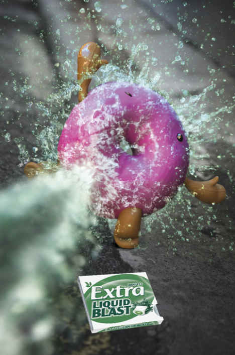 Extra Liquid Blast and Donut