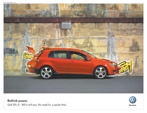 Volkswagen Rethink Grafitti