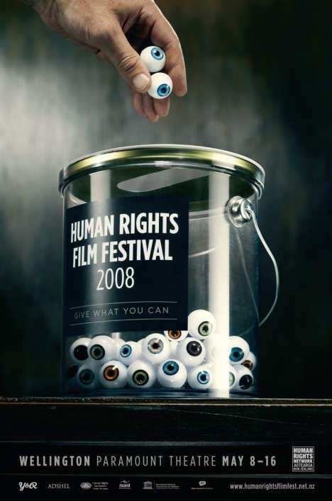 Human Rights Film Festival Eyes poster