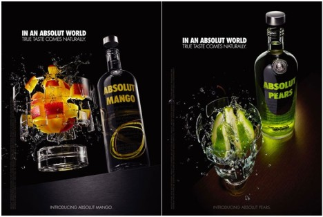 Absolut print ads