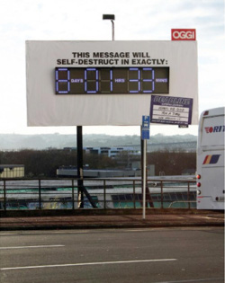 Deadline Couriers Billboard