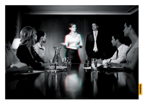 Wonderbra in the boardroom