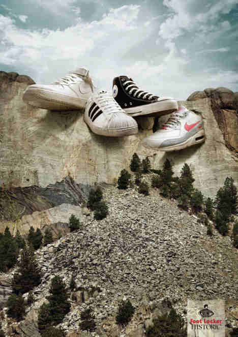Footlocker Mt Footmore print advertisement