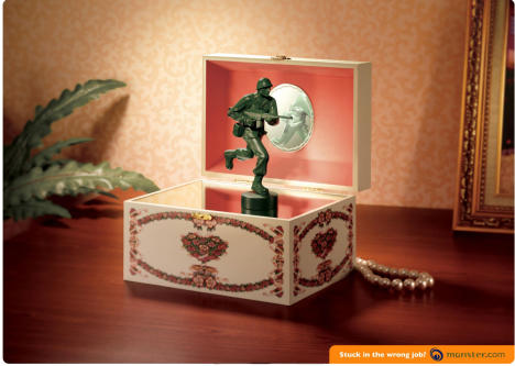 Soldier in Jewelry Box