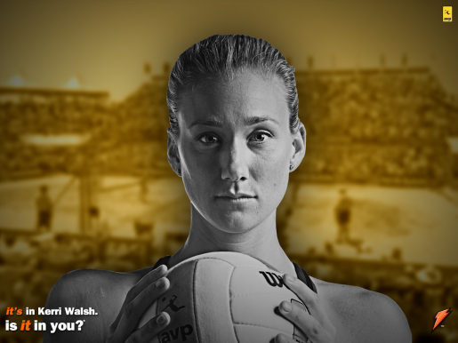 Kerri Walsh in Gatorade advertisement