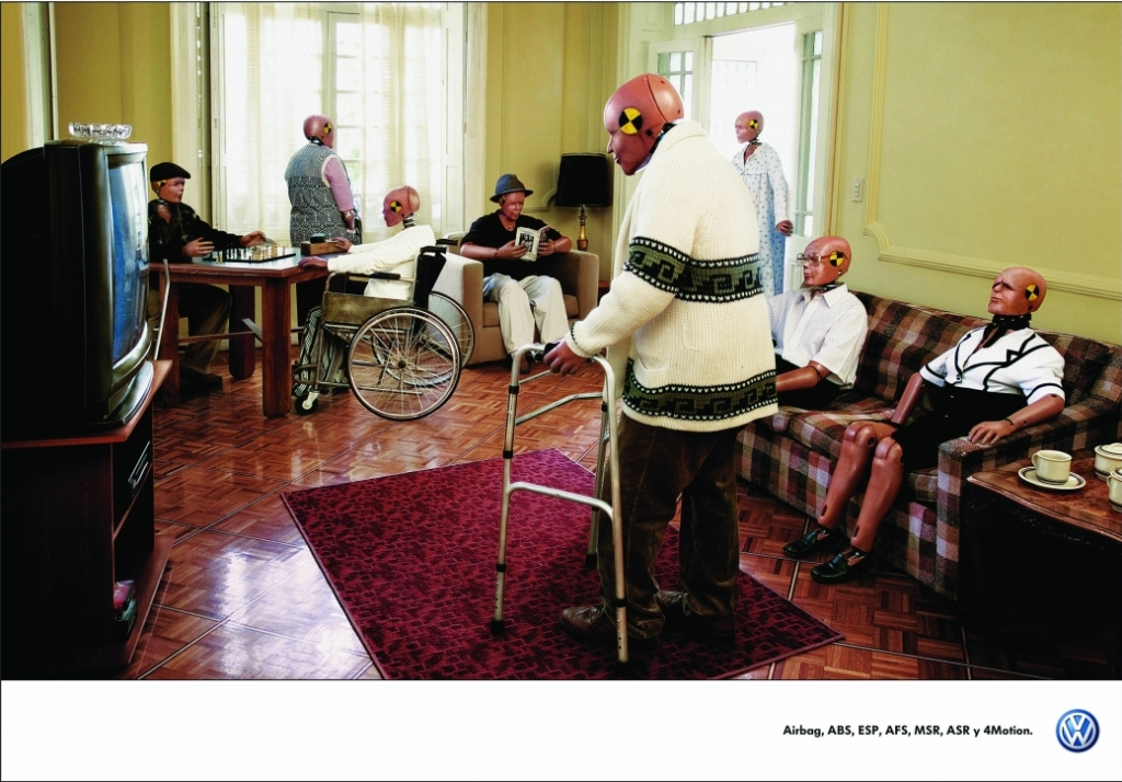 The Crash Test Dummies campaign was developed at DDB México by executive