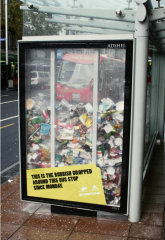 Bus Stop Rubbish