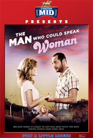 The Man Who Could Speak Woman poster