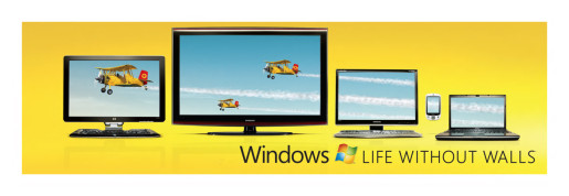 Bi-Planes in Windows without Walls out of home advertisement