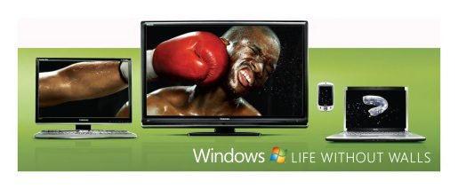 Boxing scene in Windows without Walls out of home advertisement