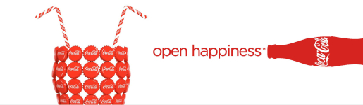 Coca Cola Open Up To Happiness print advertisement