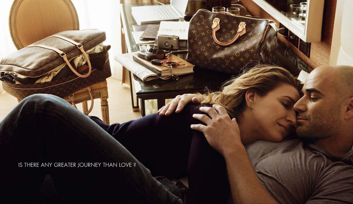 Andre And Steffi On Louis Vuitton Journey