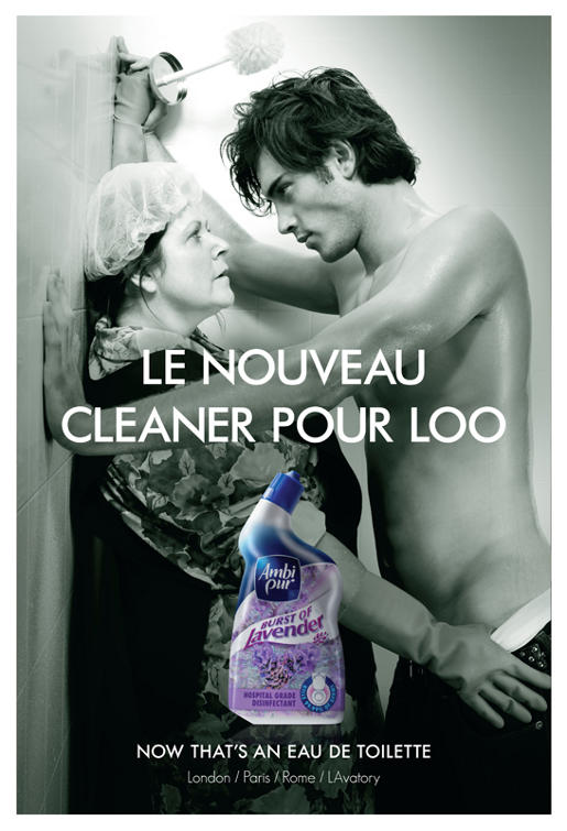 Ambi Pur Burst of Lavender print advertisement